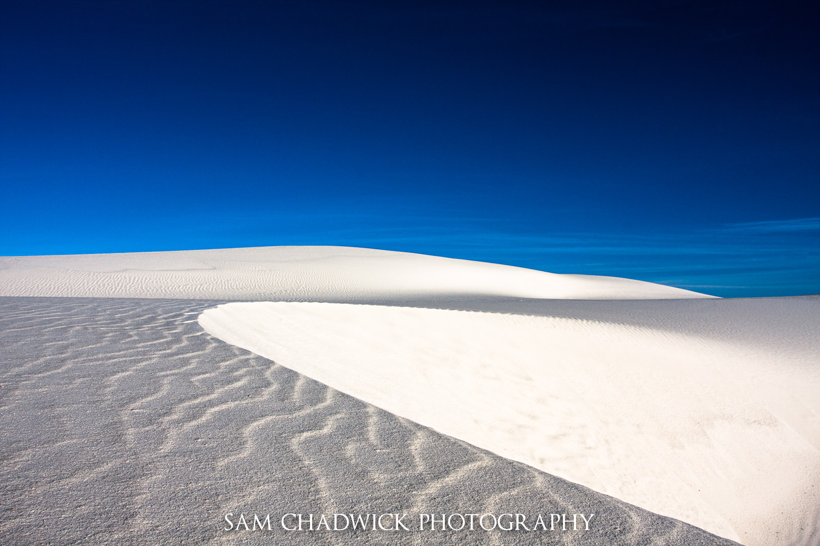 Dawn light, White Sands National Park
