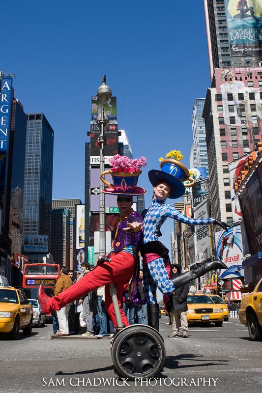 Fancy Dress in Times Square