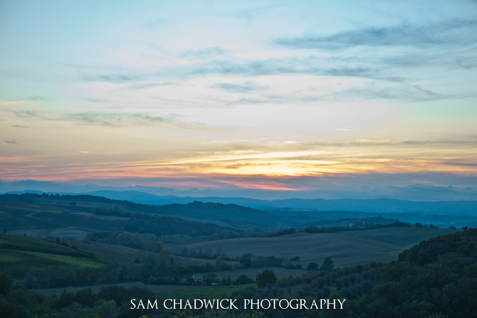 View from Castellina in Chianti