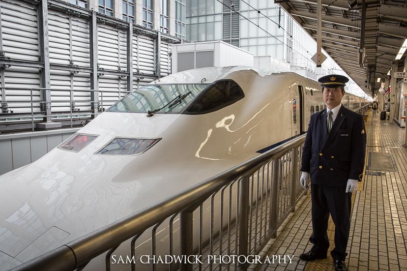 Shinkansen driver