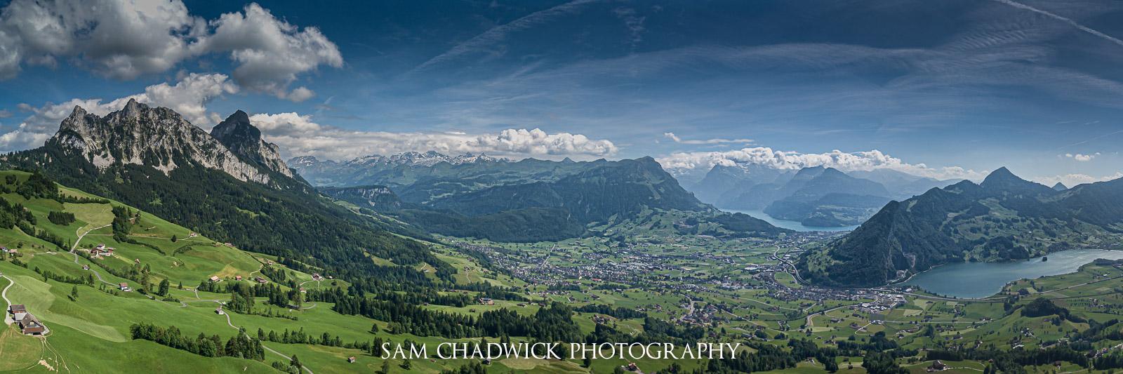 Mythen overlooking Schwyz