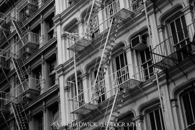 Mercer Street Fire Escapes