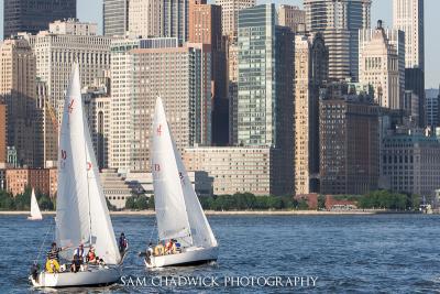 Sailing on the Hudson River