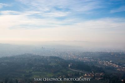 Morning fog over Florence