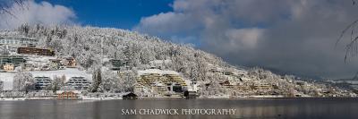 Fresh snow in Unteraegeri